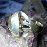 White Energy Psychic Healing Ring Releases Regrets! Move Forward & Thrive!