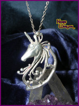 Misty, Psychic Dream Unicorn Pendant for Creativity and Motivation!