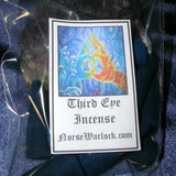 12 Psychic Third Eye Incense Cones for Past, Present and Future Visions!