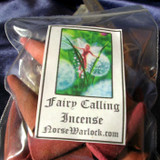 12 Fairy Calling Spelled Magick Incense Cones Summons Spirits of Light!