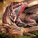 Fairy Warrior Princes Cora, Mistress of Dragons! Protection, Wealth & Love! Dragons Fairies norse warlock norsewarlock