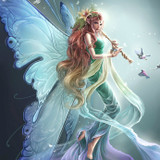 Adeline, Magick Muse Fairy! Enlightened Spirit of Inspiration & Creativity!