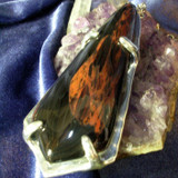 Rare Dragon Glass Pendant of Ultimate Protection, Respect, Success & Wealth!