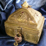 High Priestess' Jeweled Avalonian Treasure Box Charged with Magickal Energy!