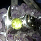 Green Fae Fire Ring draws Fairies, Fawns, and Spirits of Bright Blessings!