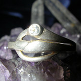 Magick Light Worker's Ring Absorbs Dark Energy, Radiating White Light!