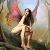Magickal Fairy Princess Fawn Brings Bright Blessings of Love, Luck and Laugher!