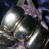 Three Metaphysical Magnetic Hematite Gemstones! Powerful Psychic Protection!