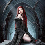 Enchanting Irina, Exquisite Young Vampiress of Seduction & Sex Magick!