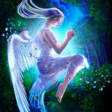 Angel Spirit of Light and Love has Amazing Powers of Youth, Beauty and Happiness!