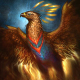 Phoenix Spirit of Wisdom, Respect, and Success for All New Beginnings! Rise!