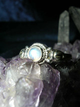 Goddess of White Light Ring Heals Psychic, Emotional and Spiritual Wounds!