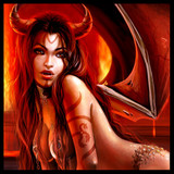 Sexy Succubus Savannah! Obedient Spirit Grants Her Master Psychic Abilities!
