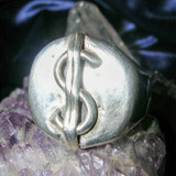 Good Luck Money Magnet Magick Ring! Wealth, Prosperity & a Life of Luxury!