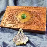 Enchanted Wealth Spell Charging Altar Box! Create & Manifest Good Money Luck!