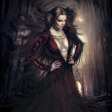 Selena, Seductive Young Vampiress Spirit Yearns to Please Her New Master! Vampire Norse Warlock norsewarlock
