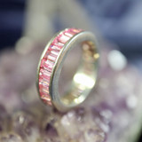 Pink Magick Ring for Peace and Serenity Washes Away Worry! Calming Energy!