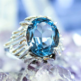 High Priestess' Magick Ring Aligns You with White Energy & Enlightened Entities!