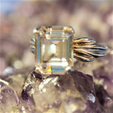 Priestess of Light Ring Holds Psychic Powers, Love, Protection & Money Magick!