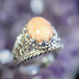 Enchanted Pink Opal Clears Energy Blocks & Calls Your Spirit Guides to Help You!
