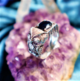 Psychic Owl of Knowledge Ring for Seekers of Wisdom & Enlightenment!