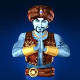 Mighty Marid Warrior Genie of Wealth, Luxury,  Power, Protection, Respect!