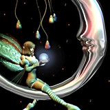 Magick Moon Fairy Grants Money Wishes! Live a Life of Luxury & Riches!