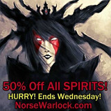 Save 50% On All SPIRITS!