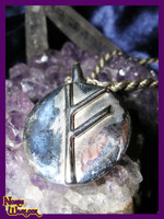 Fehu Rune Pendant for Success, Happiness and Financial Strength