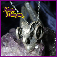 High Priest Ram Pendant  www.NorseWarlock.com