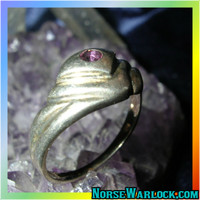 Magick Ring Clears Psychic Blocks & Brings You Life's Brightest Blessings!