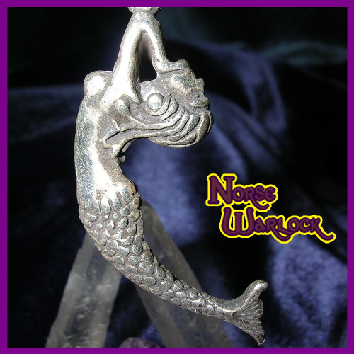 Ava, Mermaid of Love, Passion, Youth and Beauty, Spirit Pendant