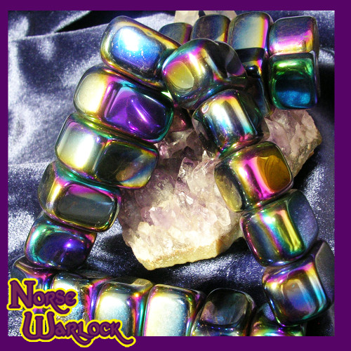 Magnetic Hematite Gemstones for Psychic Protection