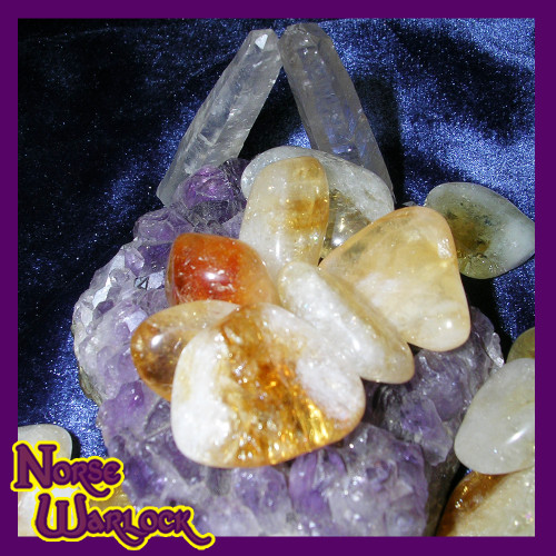 3 Metaphysical Golden Citrine Gemstones for Wealth