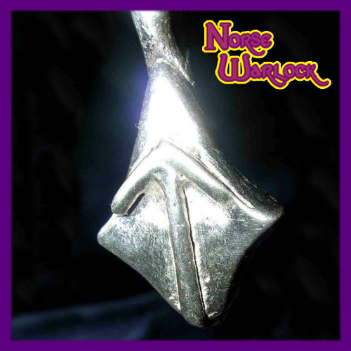 Tiwaz, The Warrior Rune Pendant for Courage, Skill and Victory