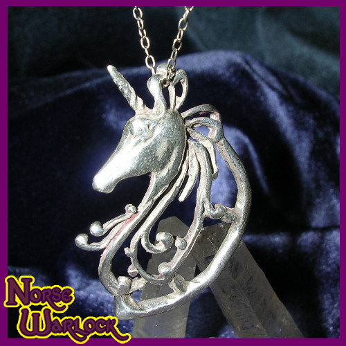 Starshine, Psychic Dream Unicorn Pendant