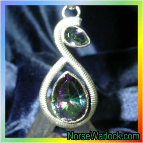 Mystic Topaz Amulet for Spiritual Healing and Personal Development