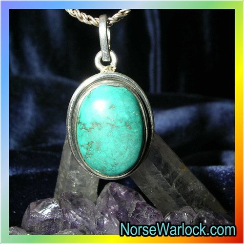 Psychic Turquoise Amulet Opens The 3rd Eye ✦ Become Clairsentient!