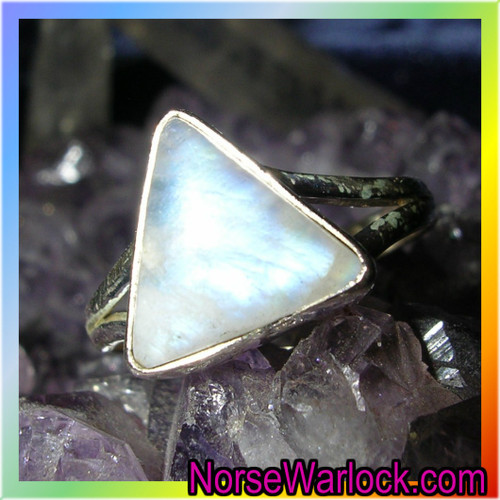 Power of Three Magick Ring, Good Deeds Come Back to You Threefold