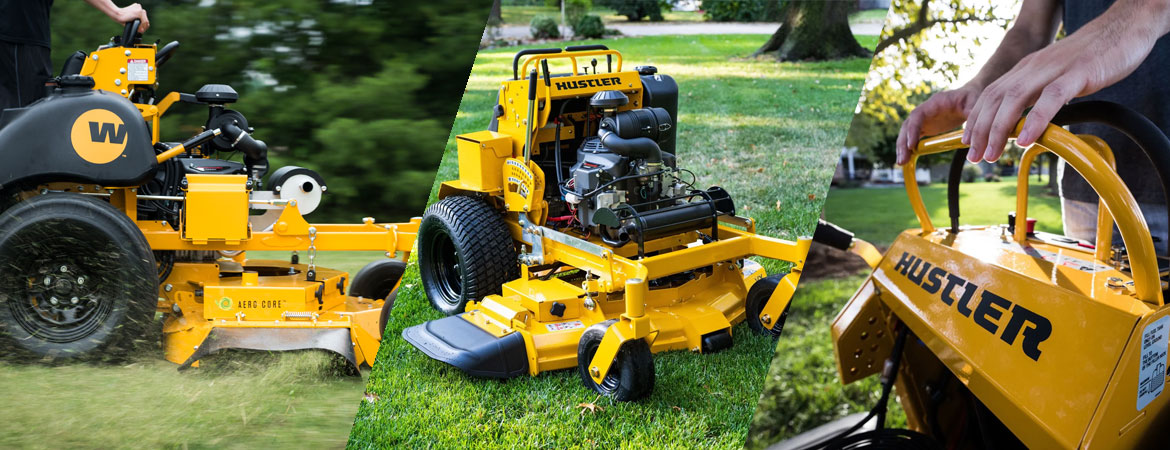 Stand On Mower
