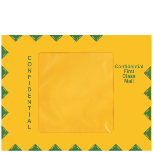 80131 - Confidential First Class Mailing Envelope