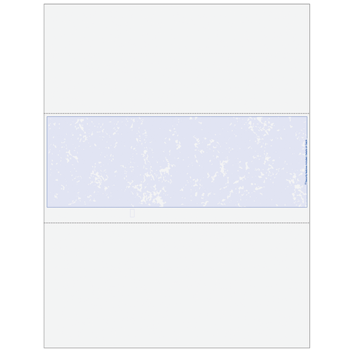 MARBLEMXX - Essential Blank Middle Business Check with Marble Background