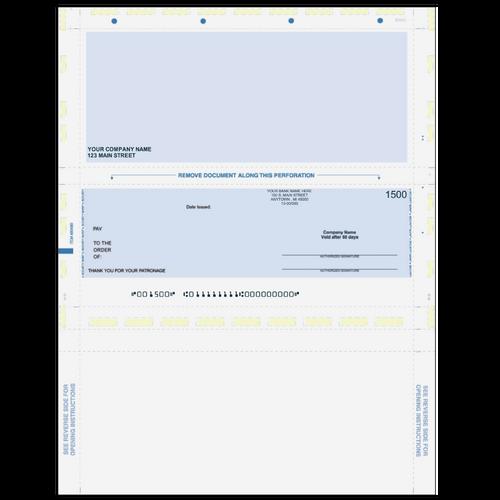 L91224 - Preprinted Multi-Purpose Pressure Seal Check