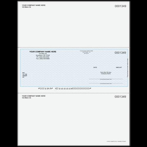 L1349 - Multi-Purpose Middle Business Check