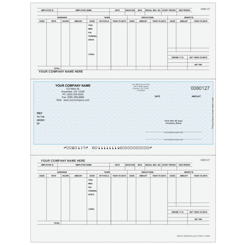 L80127 - Payroll Middle Business Check