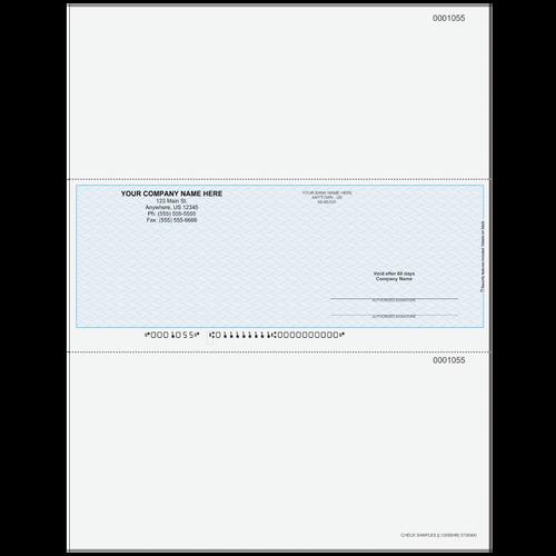 L1055B - Multi-Purpose Middle Business Check