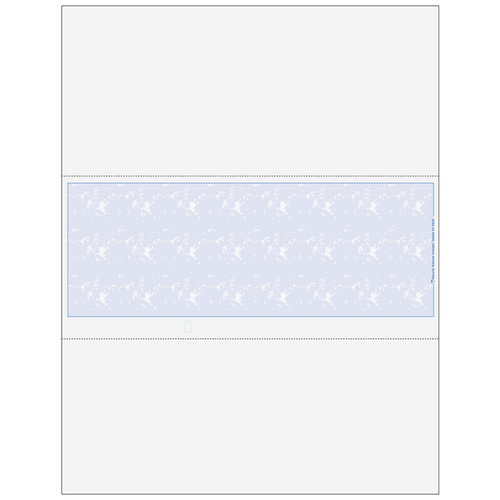 8078X - Essential Blank Middle Business Check with Marble Background