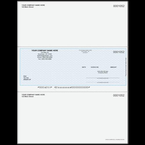 L1052 - Multi-Purpose Middle Business Check