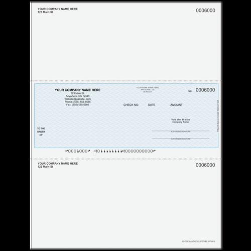 L6000 - Multi-Purpose Middle Business Check