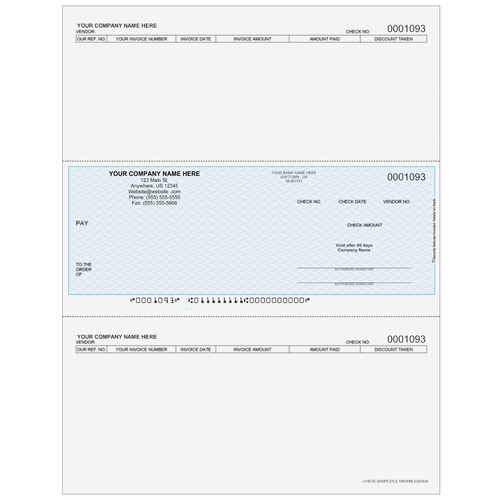 L1093 - Accounts Payable Middle Business Check